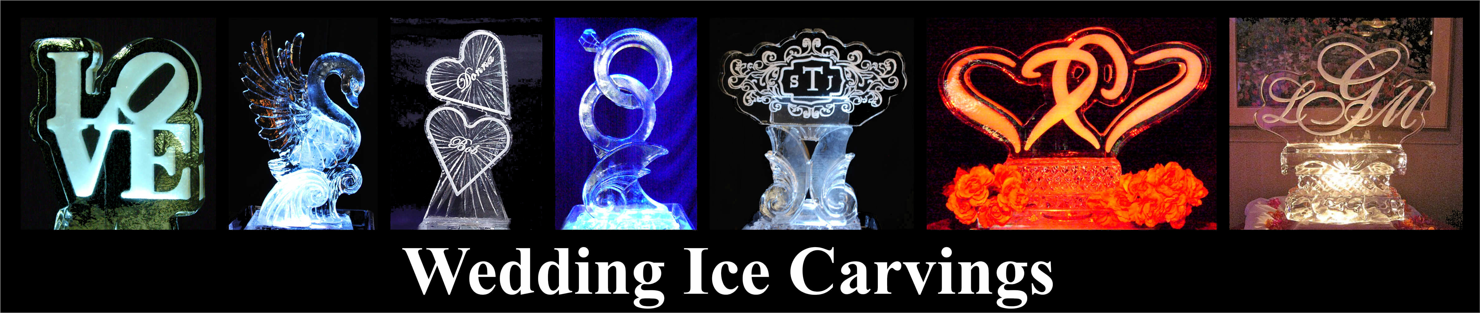 Wedding Ice Carvings