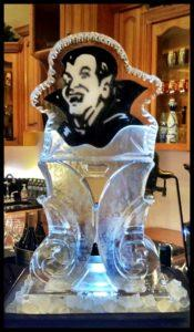 Dracula Ice Sculpture