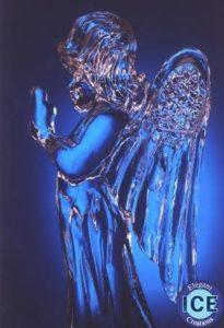 ANGEL ice carving