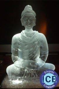 Skinny Buddha Ice Sculpture