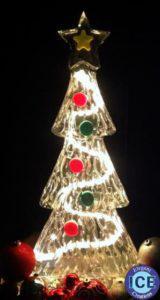 Christmas Tree Ice Sculpture