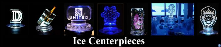 Ice Centerpieces