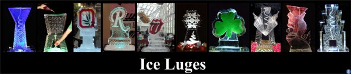 Luges ice carving cleveland