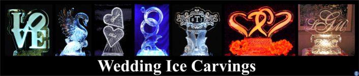 Wedding ice carving cleveland