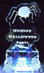Halloween spider ice bottle holder