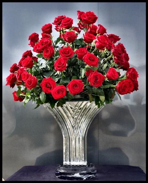 1/2 Block Art Deco Vase