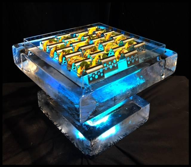 acrylic taco holder