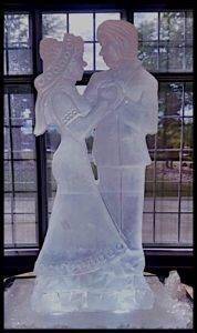 Bride and Groom 2 blocks.