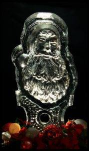 Santa interior carving 1 block