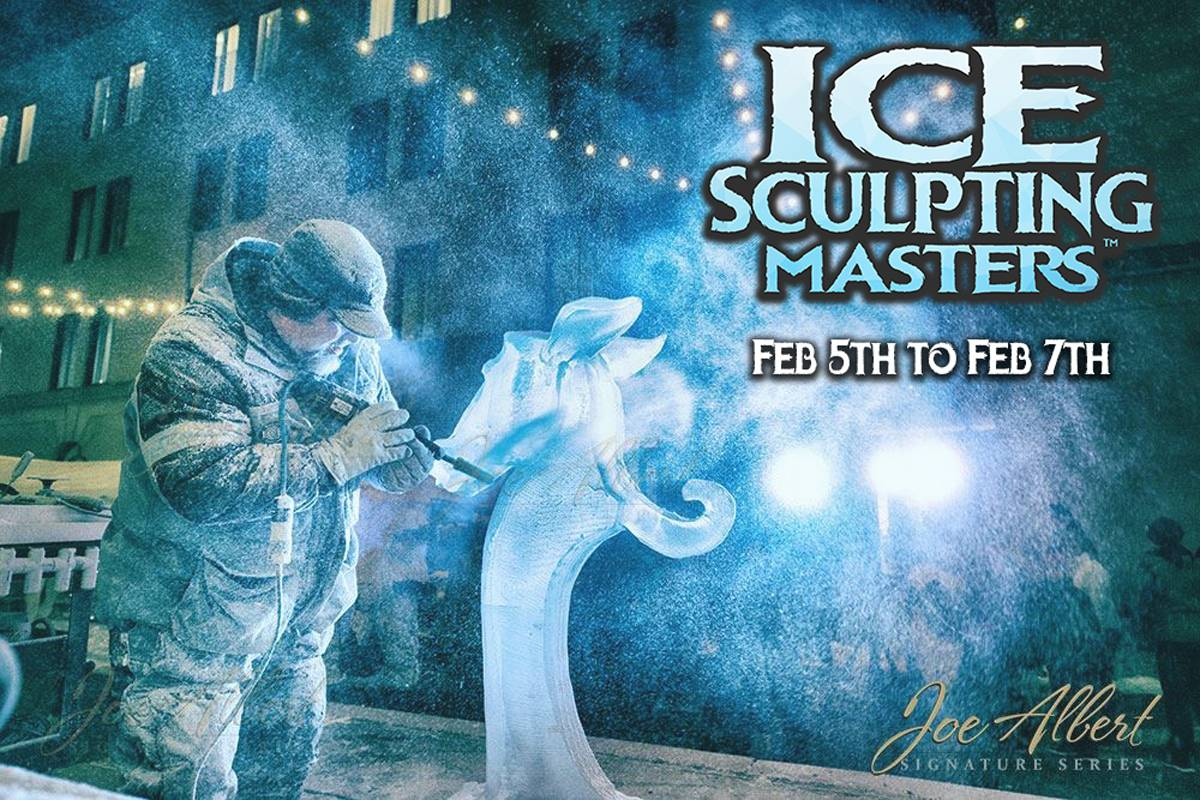 Click Here Get Tickets for the Ice Sculpting Masters Sculpture Garden at Elegant Ice Creations Feb 5-7